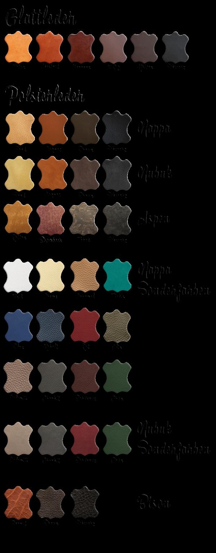 Lederfarben